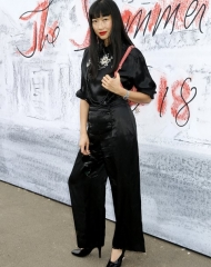 Mimi Xu in Chanel - Summer Party London (ph by Darren Gerrish)