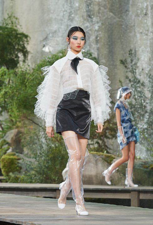 Chanel Spring Summer 2018 women's Collection - Photo © 2017 CHANEL Legal Statement