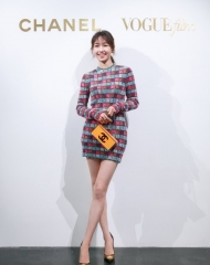 Bai Bai He in Chanel - Chanel & Vogue Film Dinner during the 21st Shanghai International Film