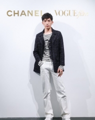 Jing Bo Ran in Chanel - Chanel & Vogue Film Dinner during the 21st Shanghai International Film