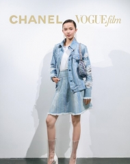 Ju Xiao Wen in Chanel - Chanel & Vogue Film Dinner during the 21st Shanghai International Film