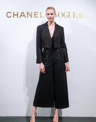 Karlie Kloss in Chanel - Chanel & Vogue Film Dinner during the 21st Shanghai International Film