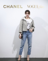 Liu Shi Shi in Chanel - Chanel & Vogue Film Dinner during the 21st Shanghai International Film
