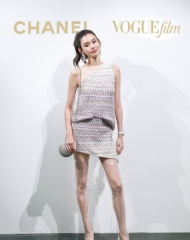 Ming Xi in Chanel - Chanel & Vogue Film Dinner during the 21st Shanghai International Film
