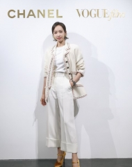 Victoria Song in Chanel - Chanel & Vogue Film Dinner during the 21st Shanghai International Film