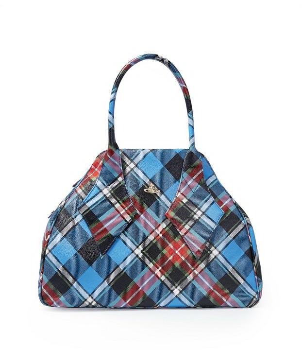03 - Vivienne Westwood . Derby Handbag tartan Charlotte