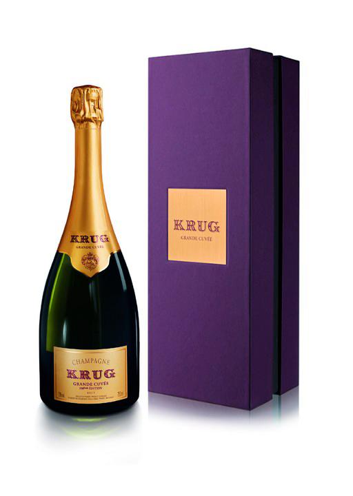 106 - Krug Grande Cuvée 163ème Edition Customizable Institutional Giftbox