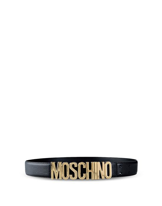 48 - Moschino men's belts