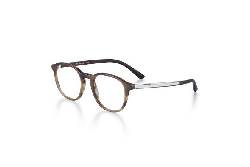 78 - Giorgio Armani Disponibile in marrone striato e in avana scuro