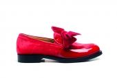 62 - Gallucci -scarpe in vernice Carminio