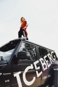 Beija Marie Velez . Iceberg Coachella Pool Party (ph by BakeestreetStudio)