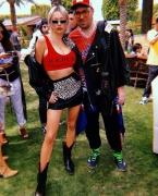 Caroline Vreeland, James Long . Iceberg Coachella Pool Party (ph by BakeestreetStudio)