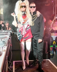Erika Jayne, Jeremy Scott . Coachella,Moschino (tv): H&M's next luxury partnership has been unveiled