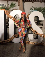 Cardi B . Coachella,Moschino (tv): H&M's next luxury partnership has been unveiled