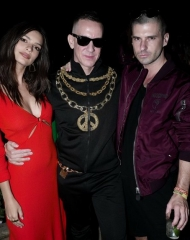 Emily Ratajkowski, Jeremy Scott, Geordon Nichol, The Misshapes . Coachella,Moschino (tv): H&M's next luxury partnership has been unveiled