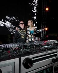 Gigi Hadid, Jeremy Scott . Coachella,Moschino (tv): H&M's next luxury partnership has been unveiled