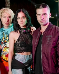 Greg Krelenstein, Leigh Lezark, Geordon Nichol, The Misshapes . Coachella,Moschino (tv): H&M's next luxury partnership has been unveiled