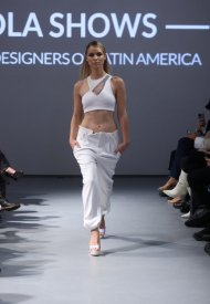 Custo Barcelona presents a preview the trust me at New York Fashion Week