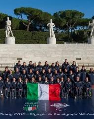 Italian team . photo © Colantoni_GMT - Giorgio Armani - Winter