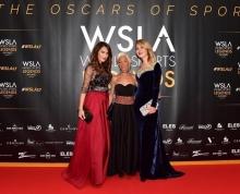 Silvia e Stefania Loriga con Francesca Fortini . Monaco WSLA 2017 event