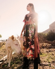 """Sardinian landscape"" Spring summer 2018 Ecollection by Eles Italia . Photo by Sara Montalbano"