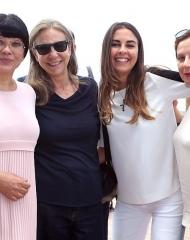 Cinzia Malvini, Ana Laura Ribas . Eleventy Guests  (photo by Giuseppe Spena)
