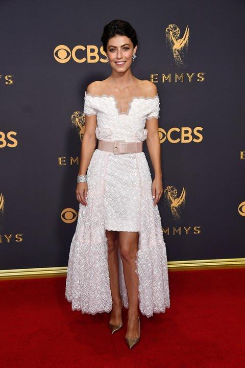 Alessandra Mastronardi - 69th Annual Emmy Awards in Los Angeles (Photo by Frazer Harrison)