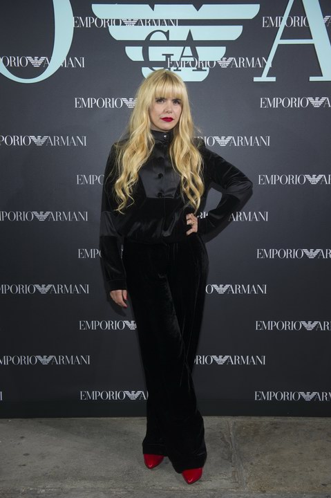 Paloma Faith at Emporio Armani Spring Summer 2018 (photo by SGP)