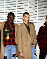 Ermanno Scervino Fall Winter 2018/19 men's collection (Photo by Giuseppe Spena)