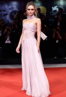Lily-Rose Depp in Chanel - The King Premiere 76th Venice Film Festival (photo by Vittorio Zunino Celotto)