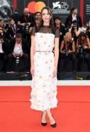 Stacy Martin wore Chanel at the Closing Ceremony of the 76th Venice Film Festival  (photo by Daniele Venturelli)