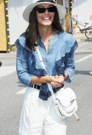 Alessandra Mastronardi  wore Tod's at the 76th Venice International Film Festival