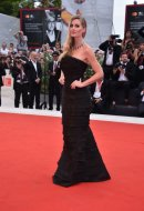 Kitty Spencer wore Ermanno Scervino at the 76th Venice International Film Festival