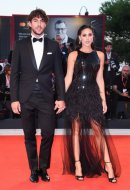 Cecilia Rodriguez with Ignazio Moser wore Blumarine at the 76th Venice International Film Festival