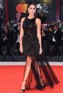 Cecilia Rodriguez wore Blumarine at the 76th Venice International Film Festival