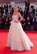 Veronica Ferraro  wore Blumarine at the 76th Venice International Film Festival