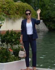 Luisa Ranieri indossa Fratelli Rossetti Festival del Cinema di Venezia