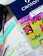 Canson Carta da disegno perforata