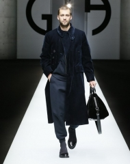 Giorgio Armani Menswear Fall Winter 2018/19