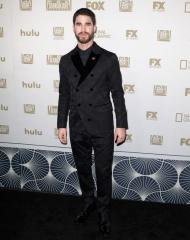 Darren Criss in Giorgio Armani Golden Globes (Photo by Tibrina Hobson)