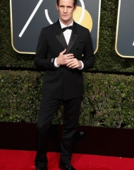 Matt Smith in Burberry Golden Globes (Photo by Frederick M. Brown)