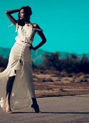Kriè by Kristina Burja - model Daniela De Jesus (Photo by Vittorio La Fata)