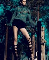 Orushka model Charlotte Hoffman (Photo by Vittorio La Fata)