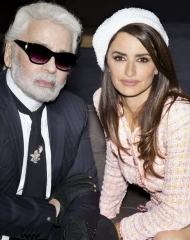 Karl Lagerfeld & Penelope Cruz Fall Winter 2018-19 Chanel Haute Couture Collection