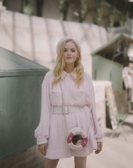 Ellie Bamber Fall Winter 2018-19 Chanel Haute Couture Collection