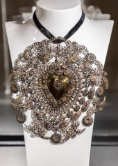 Christian Lacroix - anni '80/ 80s collana e orecchini / necklace and earrings
