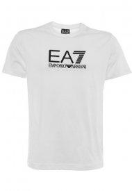 Emporio Armani EA7 Silicone Large Logo T-Shirt