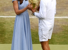 The Duchess of Cambridge Kate Middleton wears Aldo Nicholes