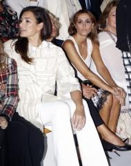 Alena Seredova and Benedetta Parodi . Laura Biagiotti Guests . Photo by Giuseppe Spena