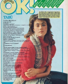 "Laura Branigan -  Interview  Ok ""Italy"""